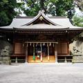 写真: 五所神社拝殿