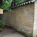 写真: 信長塀