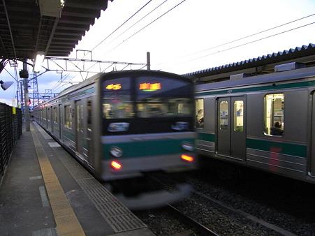 205系(指扇駅)2