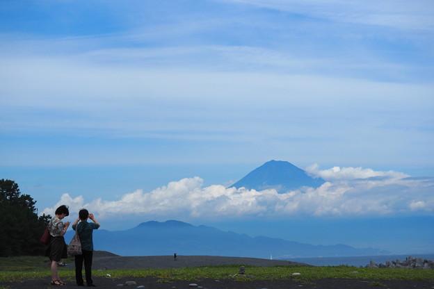 富士を楽しむ