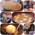 麦とろご飯_お味噌汁_ゆずシャーベット