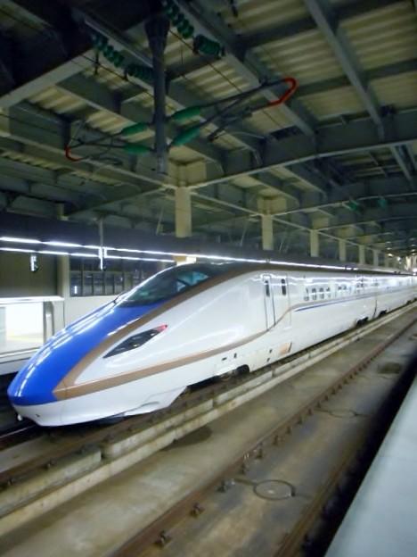 E7系F7編成(12両編成)金沢始発つるぎ726号富山行き-0