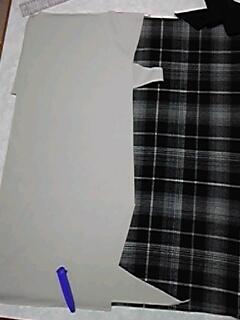 ツギハギ布で玄関マット_02