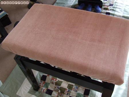 20170108_122344_ピアノ椅子カバー(ピンク)