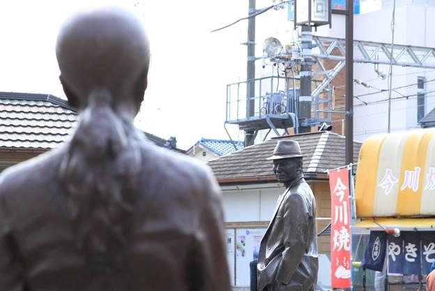 Photos: 2242 桜の季節にさくら完成@葛飾柴又