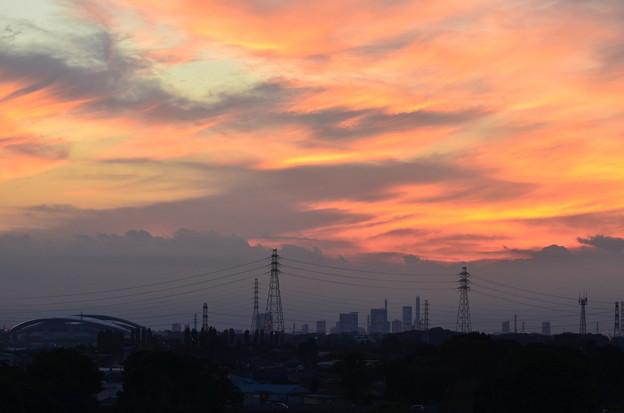 Photos: 埼玉スタジャムと夕景