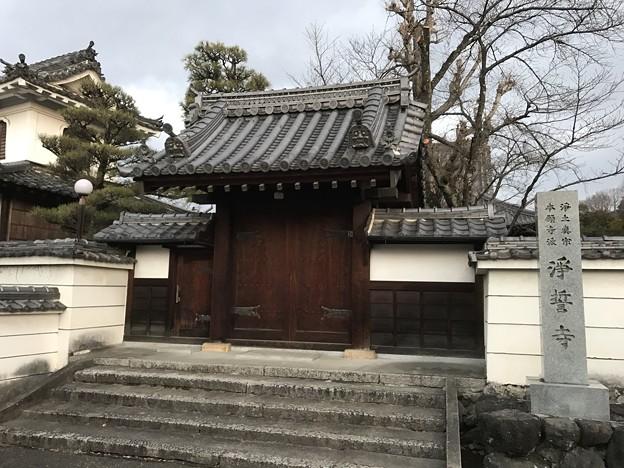 写真: 20170122 浄誓寺