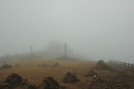蔵王 山の天気はすぐに変わる