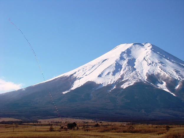 連凧と富士山