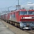 Photos: EH500-65+コキ