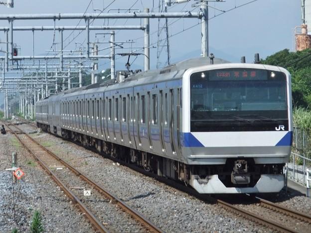 常磐線E531系 K412編成