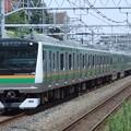 東海道線E233系3000番台 E03編成他15両編成
