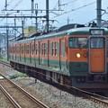 吾妻線115系1000番台 T1022編成