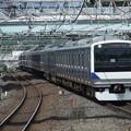 常磐線・上野東京ラインE531系 K401編成他15両編成
