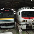 Photos: 205系1100番台T12編成・E491系 2並び