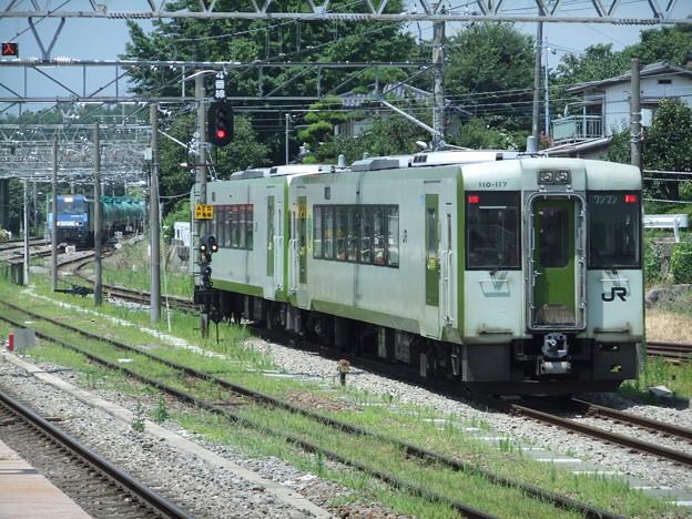小海線キハ110系100番台 キハ110-117他2両編成