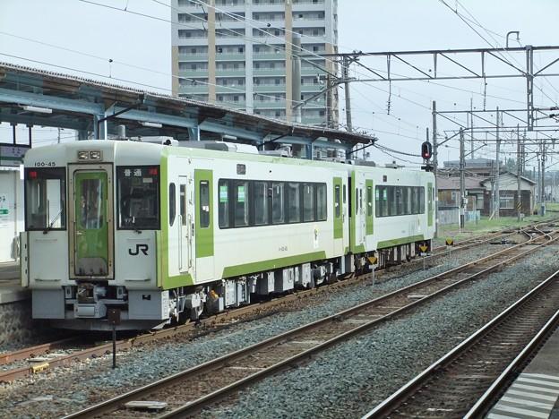 北上線キハ100系0番台 キハ100-45+キハ100-41