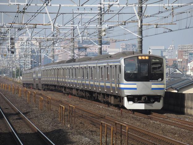 横須賀・総武快速線E217系 Y-38編成
