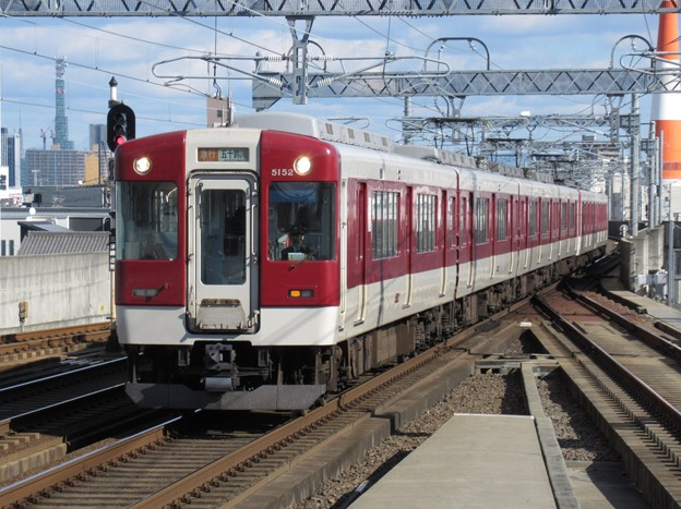 近鉄名古屋線5200系 5202F他6両編成