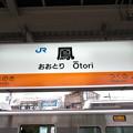 Photos: 鳳駅 駅名標【上り】