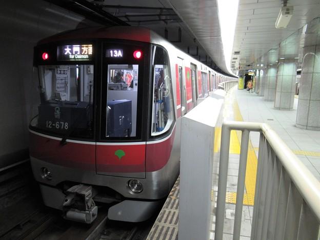 都営大江戸線12-600形 12-671F