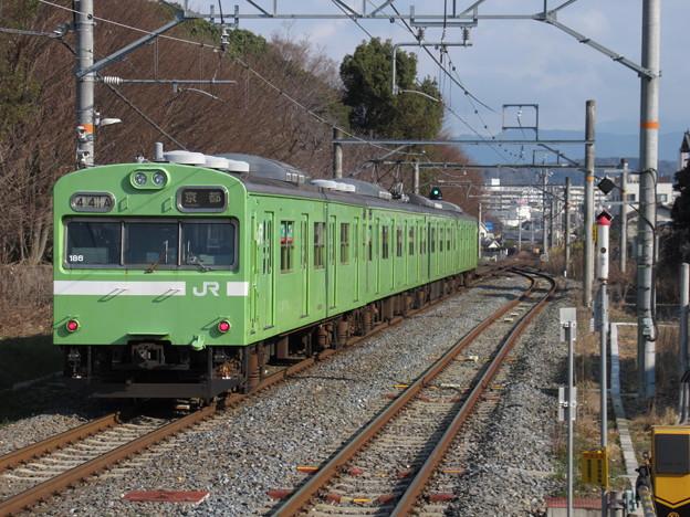 奈良線103系 NS405編成