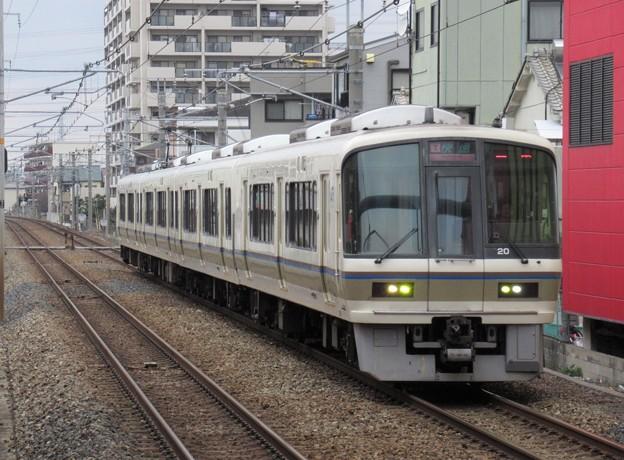 大和路・和歌山線快速221系 NA409編成
