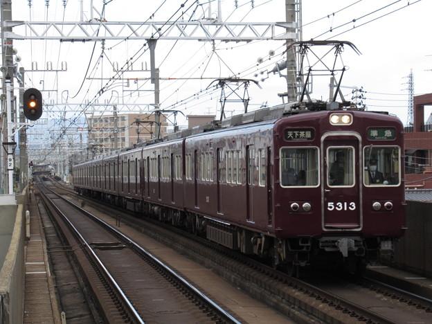 阪急京都線5300系 5313F