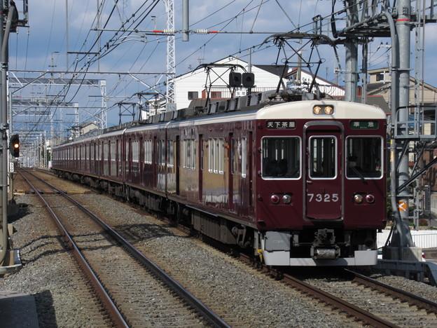 阪急京都線7300系 7325F+8311F