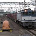Photos: EF65 2093+コキ