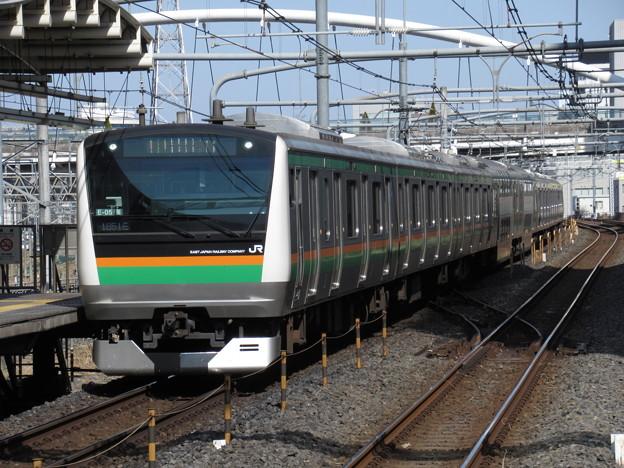 高崎線・上野東京ラインE233系3000番台 E-05+S-30編成
