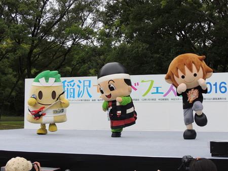 10/9(日) 稲沢サンドフェスタで とっくりんのデュエットとか みっけちゃんのバレエとかね。