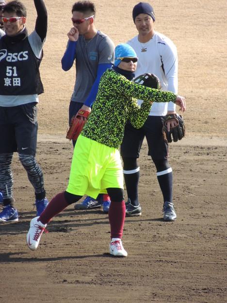 Photos: 岩崎選手。