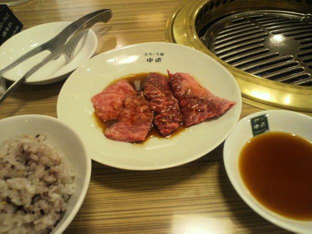一人焼き肉(冷麺付き)