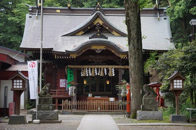 写真: 稲城 穴澤天神社