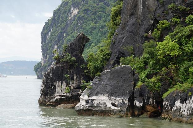 ハロン湾の犬岩