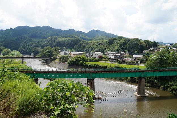 久慈川の橋梁