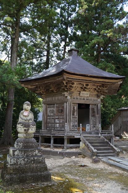 国上寺 六角堂