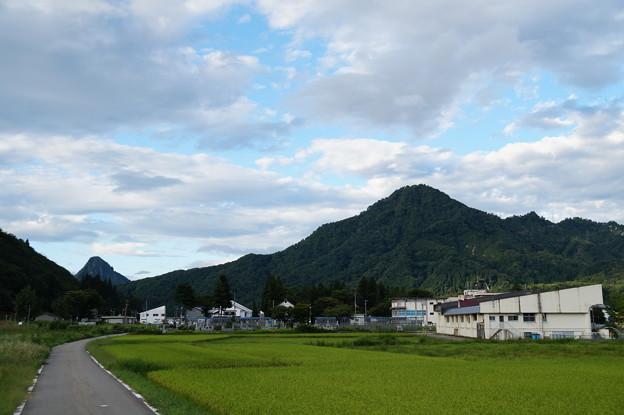 紫倉山と蒲生岳