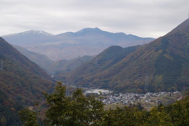 冠雪の四阿山