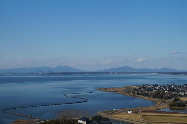 霞ヶ浦と筑波山 2