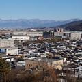 鰍沢町と甲府盆地