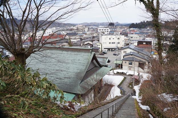 栃尾の街並み