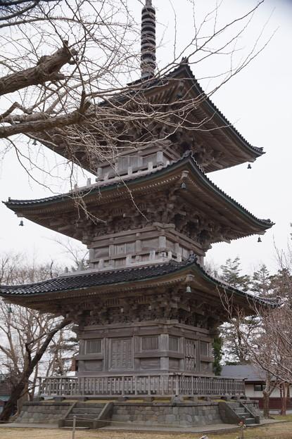 五智国分寺 三重塔