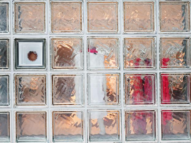 ガラスブロックの光景