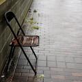 Photos: 雨と椅子