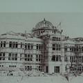 建築中の広島物県産陳列館   DSC00604