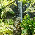 写真: お地蔵さん@白糸の滝
