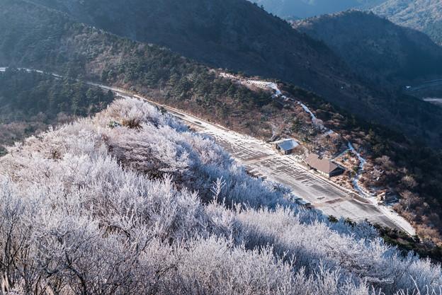 妙見の登りから仁田峠