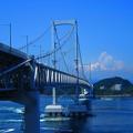 快晴の大鳴門橋